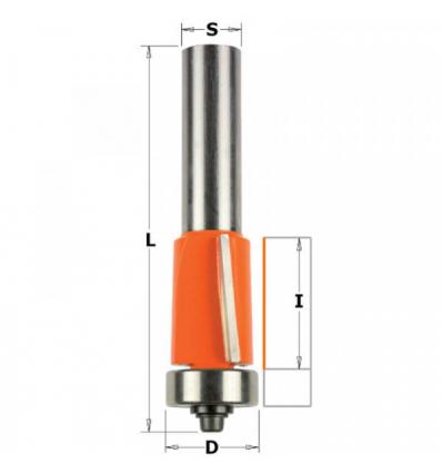 CMT Orange Tools 706.095.11 Fresa para refundir hm s 6 d 9.5x25